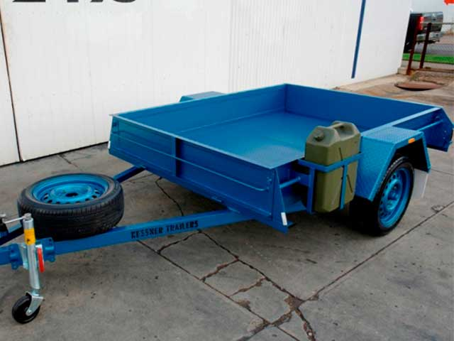 Australian Made Painted Commercial Trailers