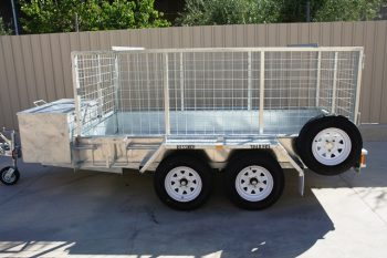 CUSTOM BUILT GALVANISED TRAILER